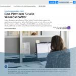 Deutschlandfunk berichtet über EOSC und GeRDI